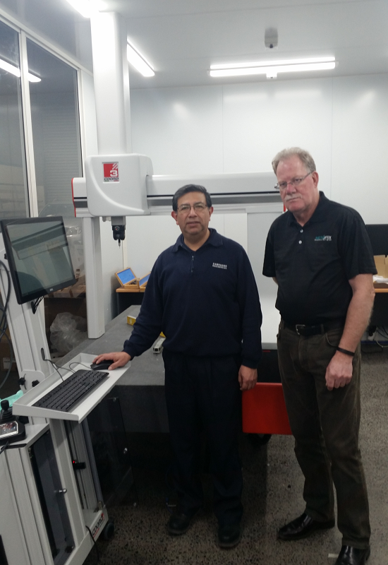 New COORD3 CMM at Campagno Engineering