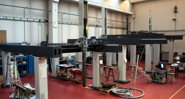 GANTRY COORD3 in production