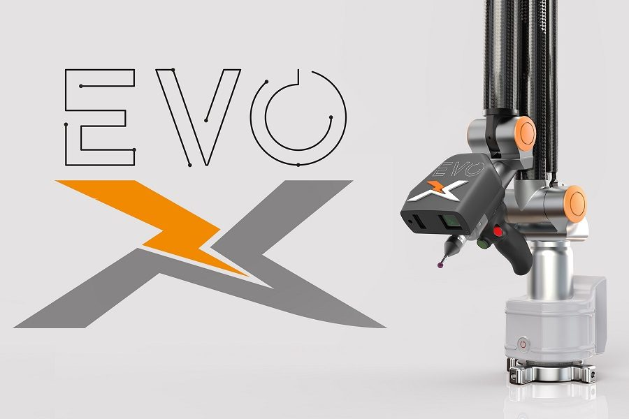 EVO-XR Seven Axis Portable Arm CMM with Removable Laser